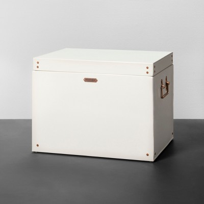 Storage Box Cream - Medium - Hearth & Hand™ with Magnolia