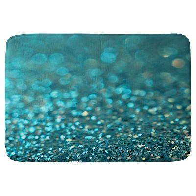 Lisa Argyropoulos Aquios Cushion Bath Mat Blue - Deny Designs