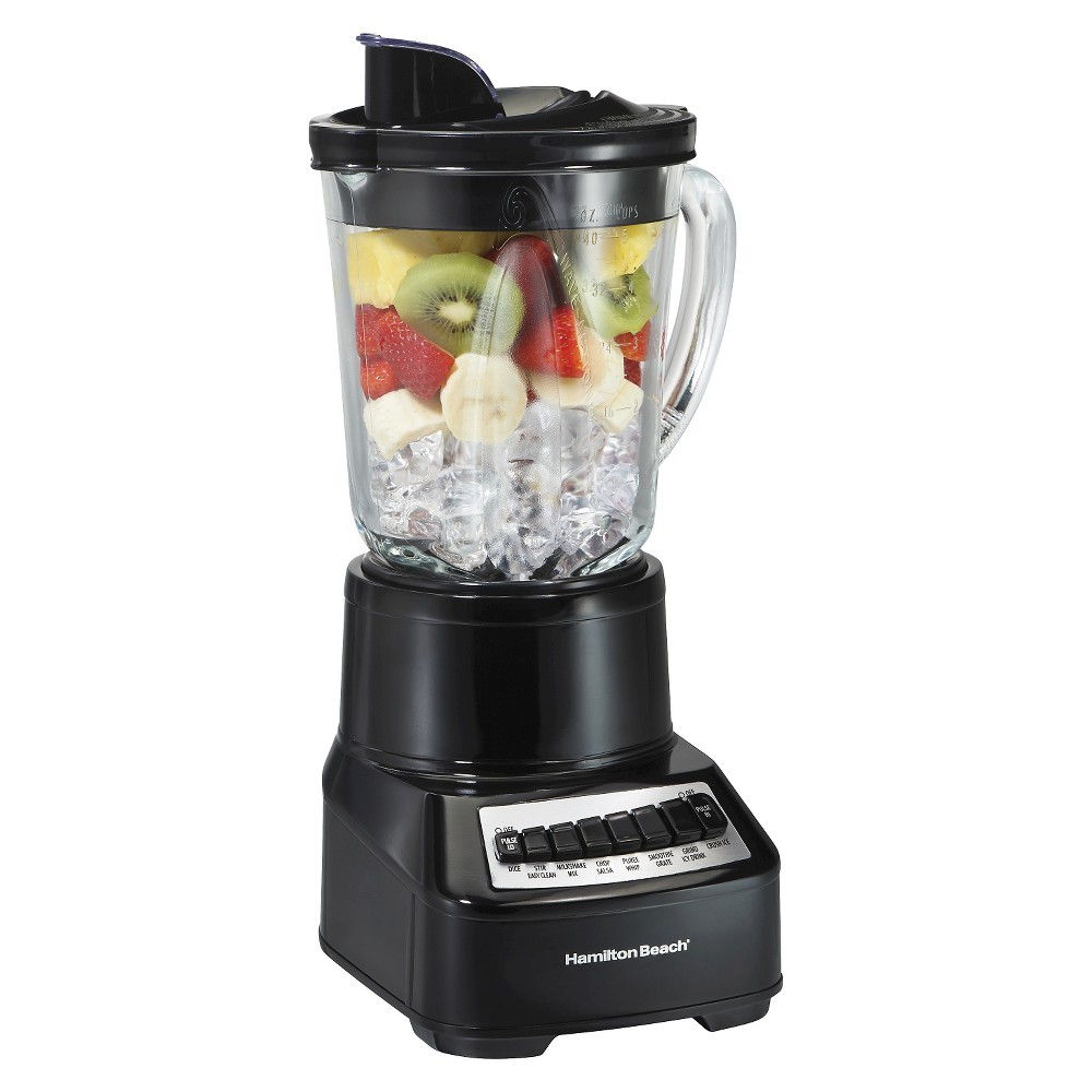Hamilton Beach Wave Crusher Multi-Function 40oz. Blender -Black 54220, Black 16792306