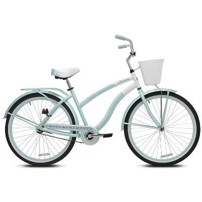 "Kent Women's Belmar 26"" Cruiser Bike - Teal Blue"