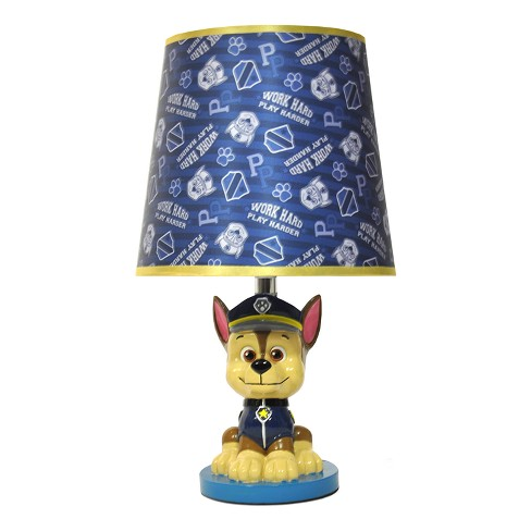 PAW Patrol Chase Table Lamp with Lightbulb - image 1 of 2