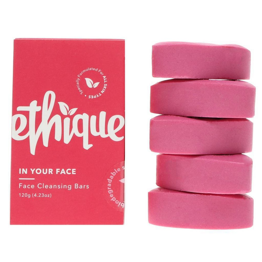 Image of Ethique Eco-Friendly Face Cleansing Bar - In Your Face - 4.23oz