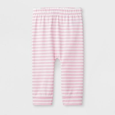 Baby Girls' Heart Leggings Pants - Cat & Jack™ Pink 0-3M