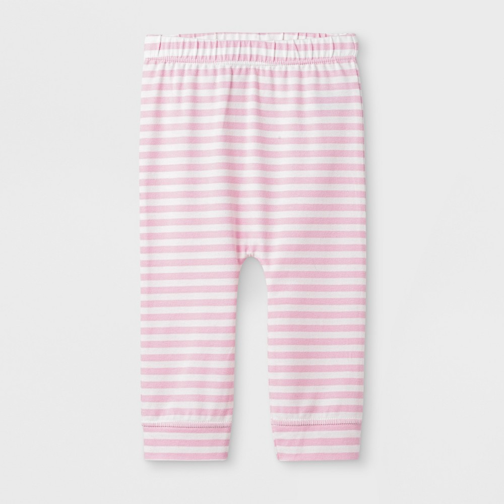 Baby Girls' Heart Leggings Pants - Cat & Jack Pink 18M