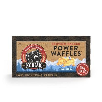 Kodiak Cakes Power Waffles Blueberry Frozen Waffles - 10.72oz