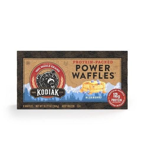 Kodiak Cakes Power Waffles Blueberry Frozen Waffles - 10.72oz - image 1 of 4