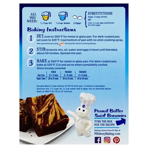Pillsbury Chocolate Fudge Brownie Mix 195oz Target