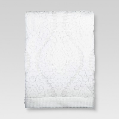 Ogee Bath Towels White - Threshold™