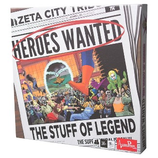 Heroes Wanted The Stuff Of Legend Board Game : Target
