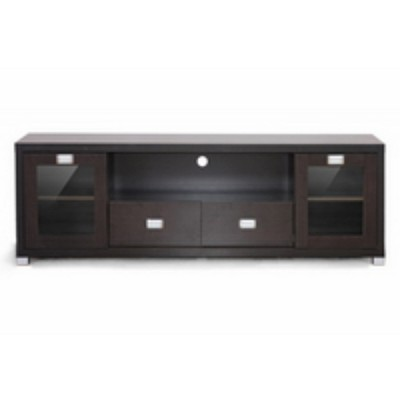 Gosford Wood Modern TV Stand Brown - Baxton Studio