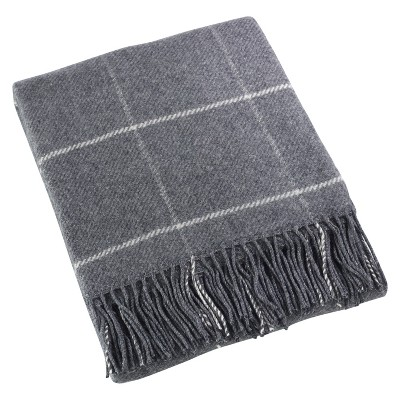 Gray Sevan Design Throw Blankets (50 x60 )- Saro Lifestyle