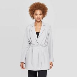 aa1eb36a6 Women's Long Sleeve Button-Down Blazer - Prologue™ Black : Target
