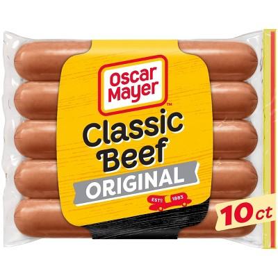 Oscar Mayer Classic Uncured Beef Franks - 15oz/10ct