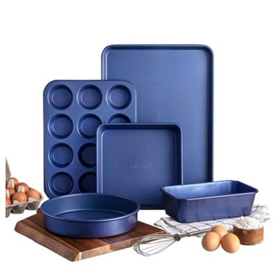 Granitestone Blue 5pc Bakeware Set