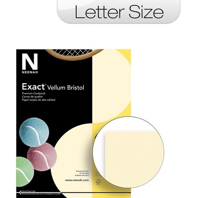 Neenah Paper Neenah 67-lb. Exact Vellum Bristol Card Stock 81368/82368