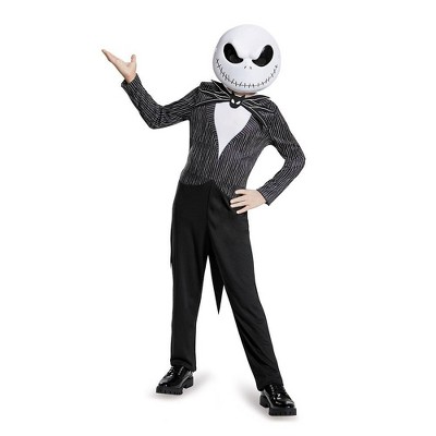 Kids' Disney Nightmare Before Christmas Jack Skellington Halloween Costume Jumpsuit