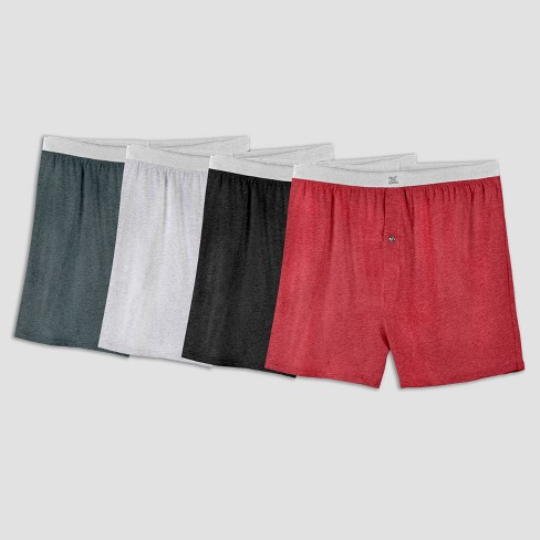 Fruit of the Loom Men's Knit Boxer Shorts 4pk - 2XL - image 1 of 2