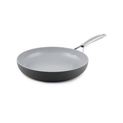"""GreenPan Paris 12"""" Aluminum Open Fry Pan"""