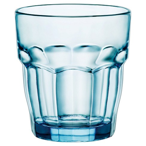 Bormioli Rocco Rock Bar Stackable 9oz Water Glass Set of 6 - Blue - image 1 of 1