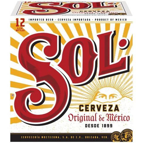 Sol Cerveza Beer - 12pk/11.2 fl oz Bottles - image 1 of 4