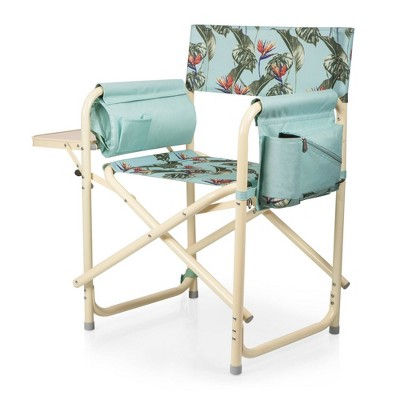 Picnic Time Outdoor Directors Chair - Tropical