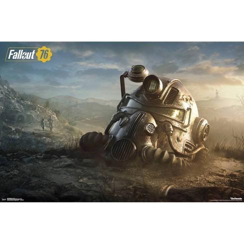 "34""x23"" Fallout 76 Key Art Unframed Wall Poster Print - Trends International - image 1 of 2"