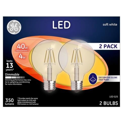 General Electric Led 40w 2pk Soft White