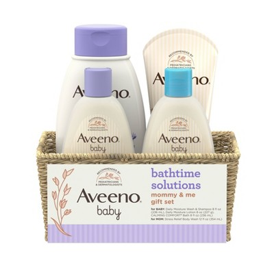 Aveeno Bath time gift set