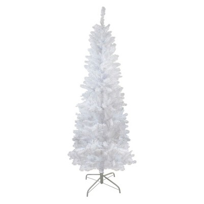 Northlight 6' Pencil White Spruce Artificial Christmas Tree - Unlit