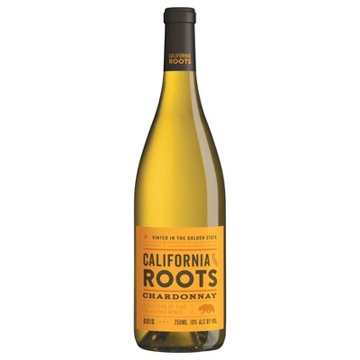 Chardonnay White Wine - 750ml Bottle - California Roots™