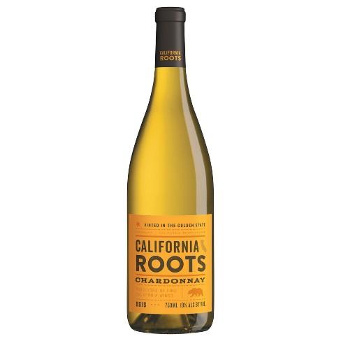 Chardonnay White Wine - 750ml Bottle - California Roots™ - image 1 of 1