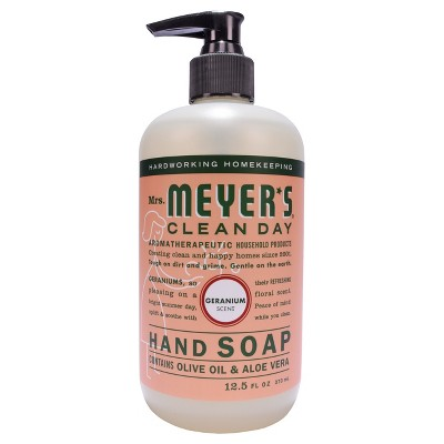 Mrs. Meyer's® Geranium Liquid Hand Soap - 12.5 fl oz