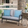 Honolulu Wicker Loveseat - Christopher Knight Home - image 2 of 4