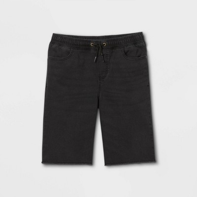 Boys' Waist Pull-On Shorts - art class™ Black