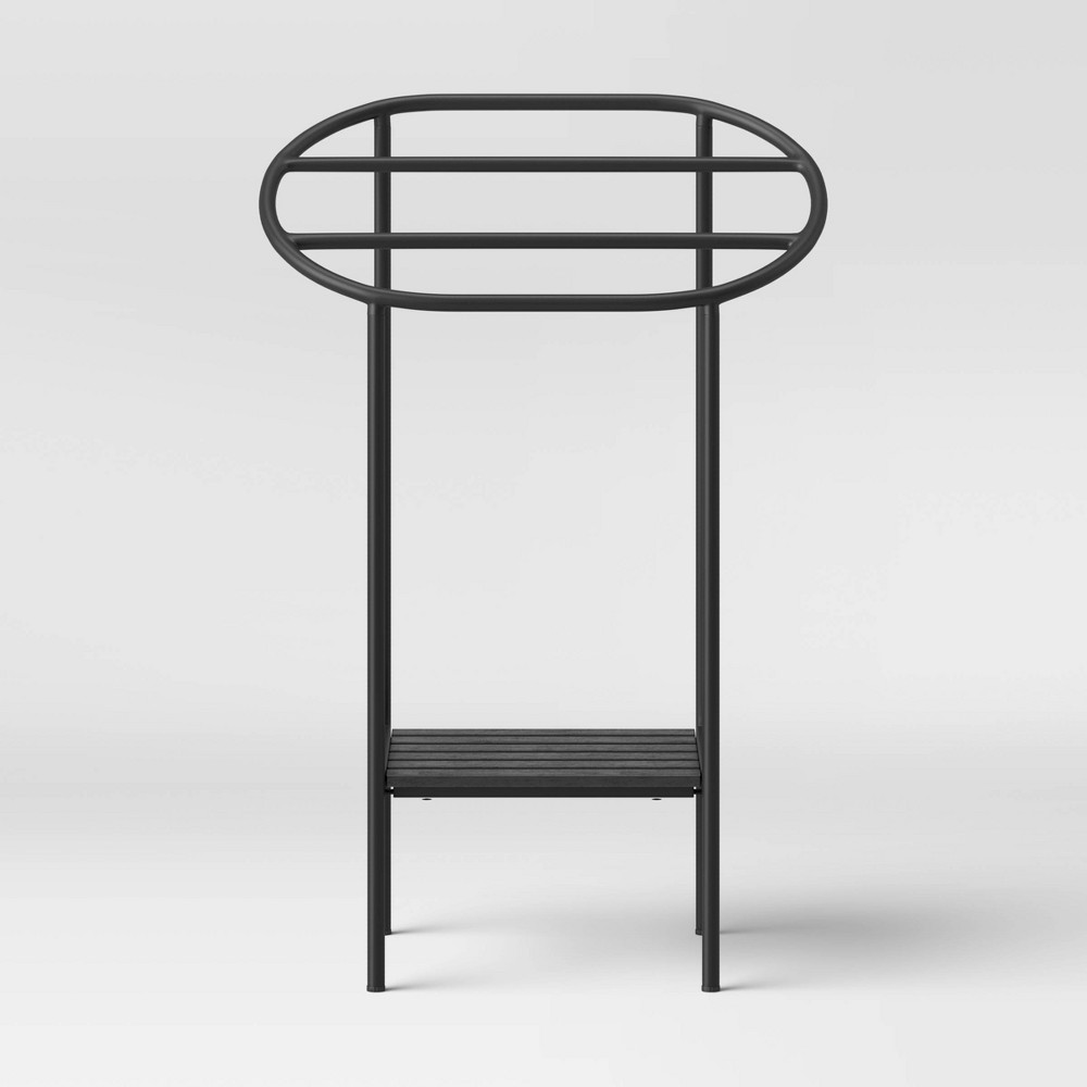 Image of Modern Towel Rack Black - Project 62