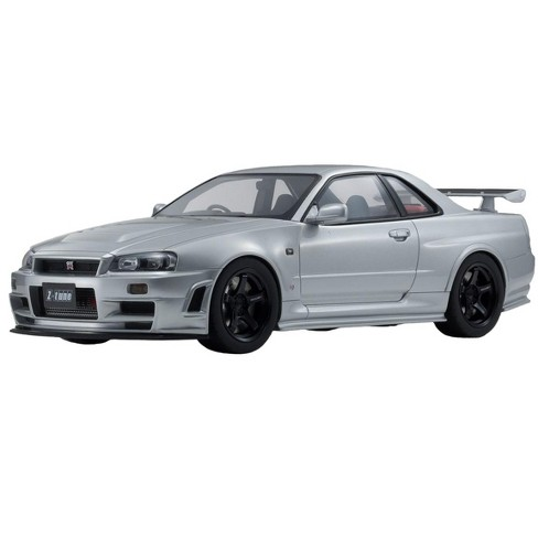 Nissan Skyline GT-R R34 Z-Tune Nismo Silver Limited Edition to 700 pieces  Worldwide 1/12 Model Car by Kyosho