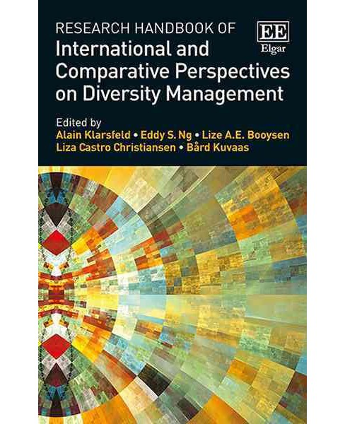 Research Handbook of International and Comparative Perspectives on Diversity Management (Hardcover) - image 1 of 1