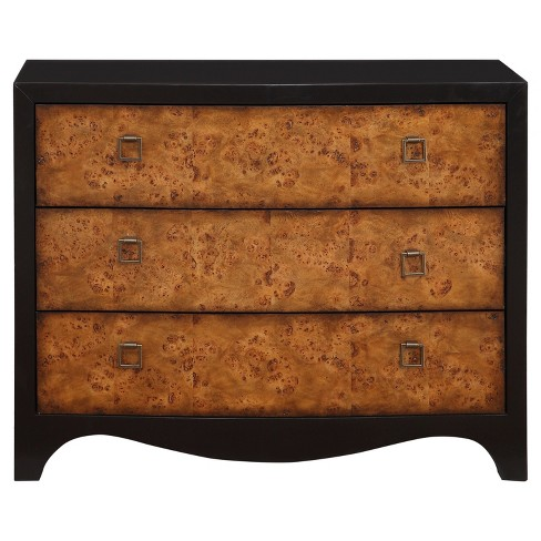 Laurel Burl Veneer Chest - Black - Treasure Trove - image 1 of 5