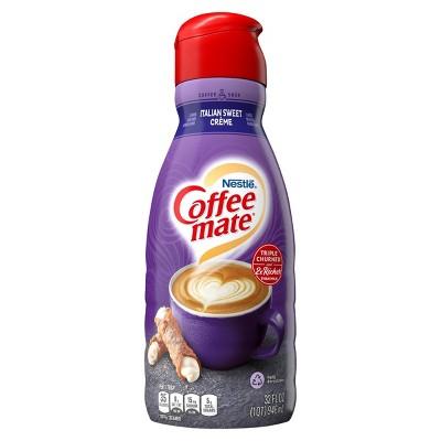 Coffee mate Italian Sweet Crème Coffee Creamer - 1qt