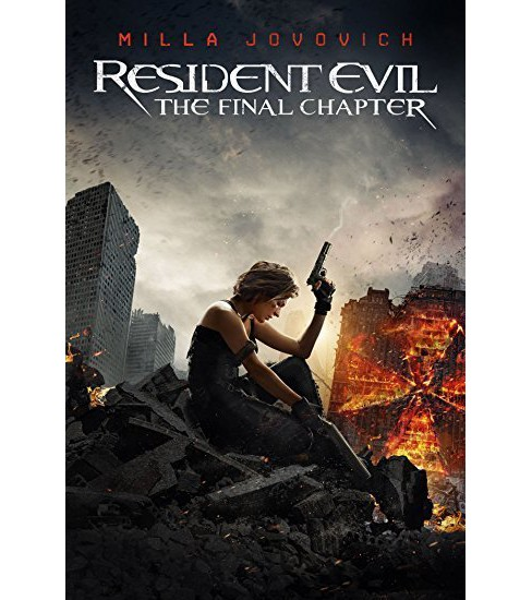 The Resident Evil: Final Chapter (4K/UHD + Blu-ray + Digital) - image 1 of 1