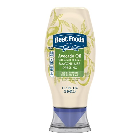 Best Foods Squeeze Bottle Avocado + Lime Mayonnaise Dressing - 11.5oz - image 1 of 5