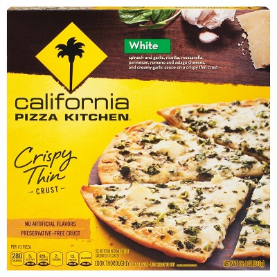 california pizza kitchen crispy thin crust white frozen pizza 12 rh target com california kitchen pizza menu prices california kitchen pizza menu