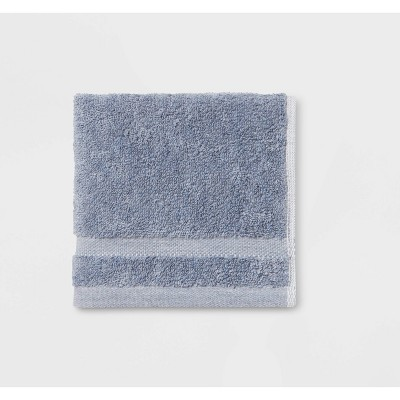 Solid Washcloths Blue - Made By Design™