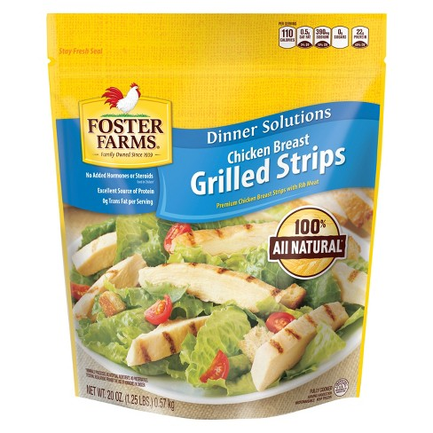 Foster Farms Grilled Frozen Breast Strips - 20oz - image 1 of 1