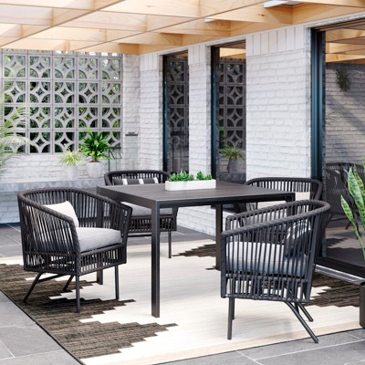 Standish 5pc Patio Dining Set - Charcoal - Project 62™