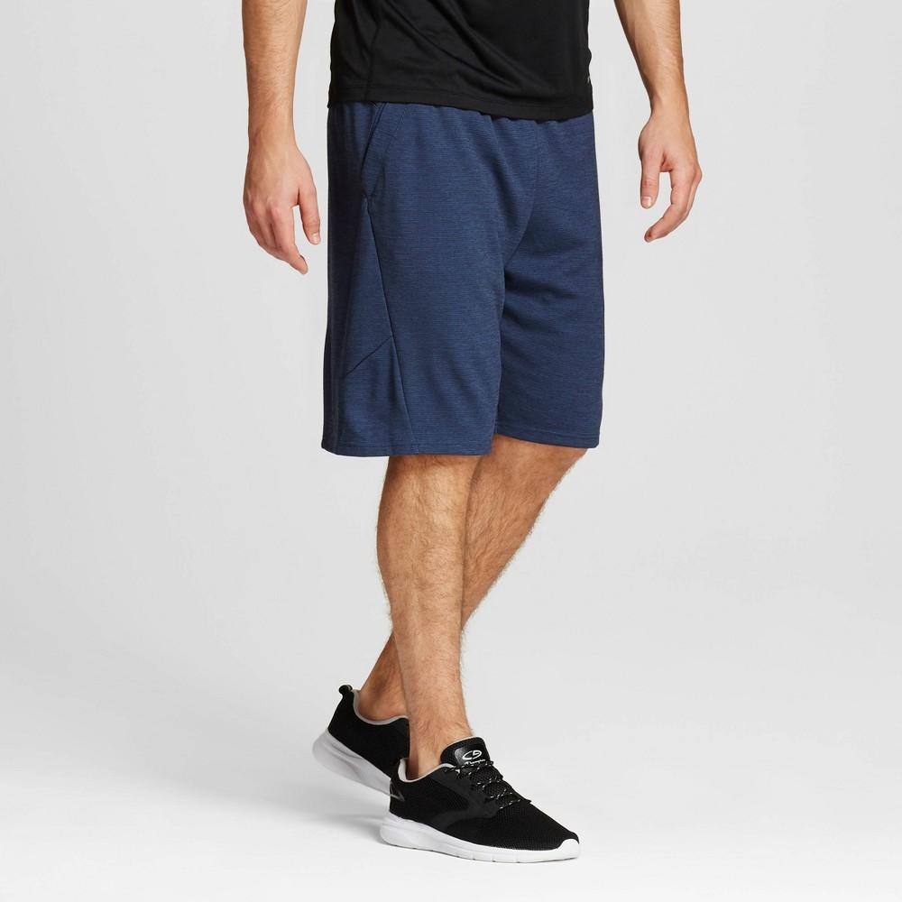 Compare Mens Premium Basketball Shorts - C9 Champion Cruising Blue L
