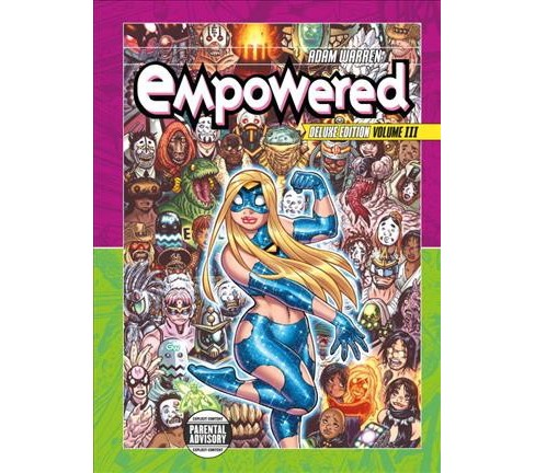 Empowered 3 -  Deluxe (Empowered) by Adam Warren (Hardcover) - image 1 of 1