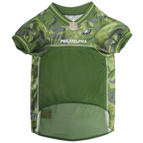 NFL Pets First Camo Pet Football Jersey - Philadelphia Eagles   Target e0b3ef364