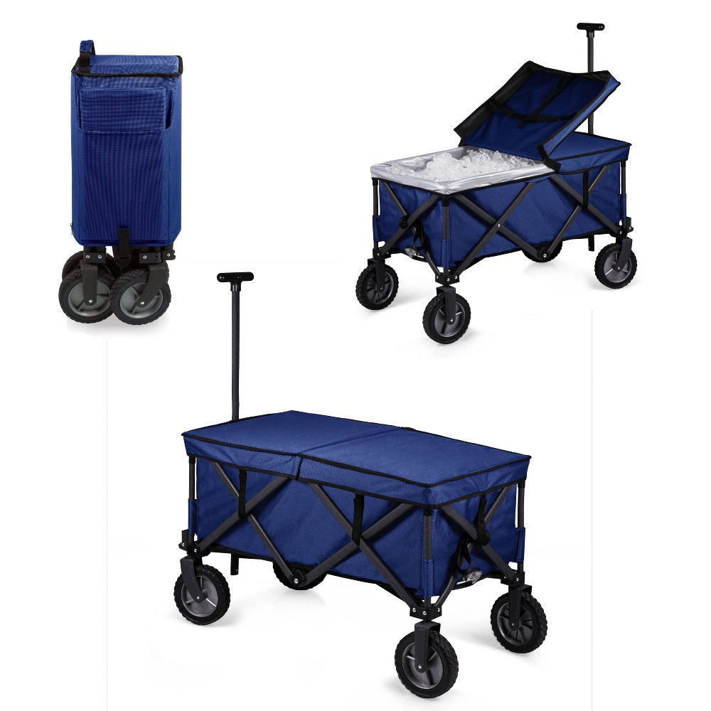Image of Coolers Picnic Time Navy, Blue