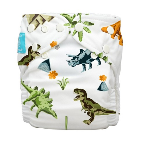 Charlie Banana Reusable All-in-One Cloth Diaper - Dinosaurs - image 1 of 4